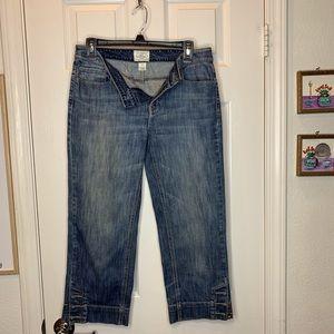 Woman's jean capris White House black market 4